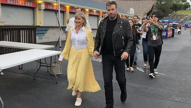 Olivia Newton-John, John Travolta Dress Up As Danny and Sandy Re-Creating the 'Grease' Moment (View Pic)