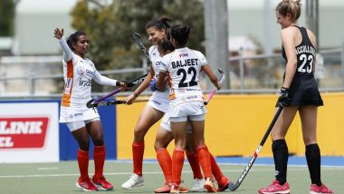 Indian Junior Women's Team Win 3-Nation Hockey Tournament