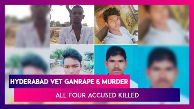 All Four In Hyderabad Vet's Gangrape & Murder Case Killed In Encounter, Victim's Father Says His Daughter's Soul Is Now At Peace