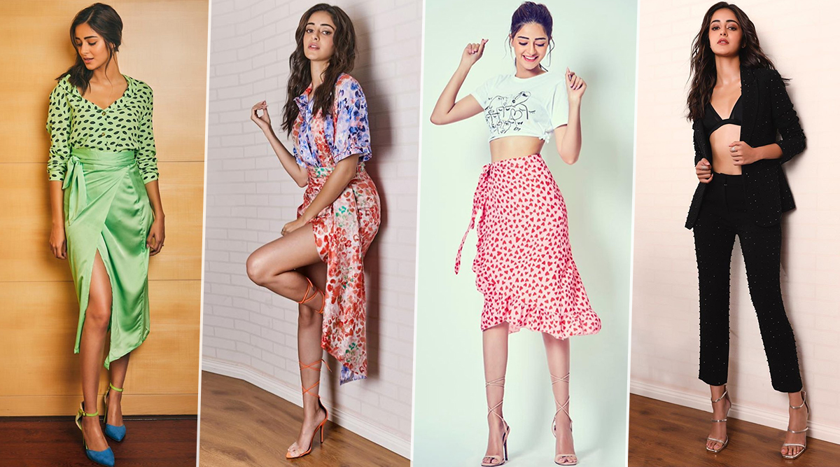 Ananya Panday's Style File for Pati Patni aur Woh Promotions was Snappy, Snazzy and So Much More (View Pics)