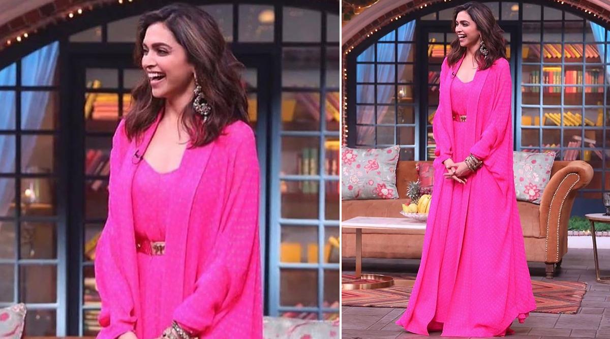 Gulabooo... Zara Itr Gira Do! Deepika Padukone Looks Pretty in Pink for Chhapaak Promotions on The Kapil Sharma Show