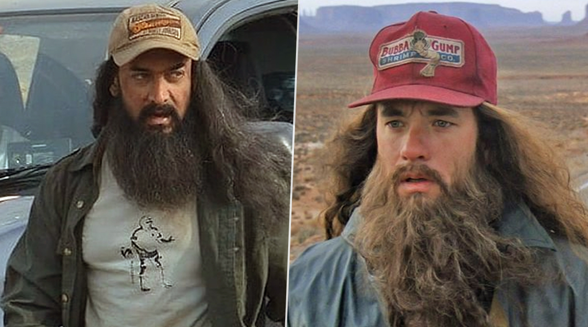 Aamir Khan's Latest Leaked Pictures From Laal Singh Chaddha Shoot Will Make You Mistake Him For Tom Hanks from Forrest Gump!