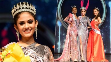 Aayushi Dholakia Crowned Miss Teen International 2019, First Indian in 27 Years to Win the Prestigious Title (View Pics)