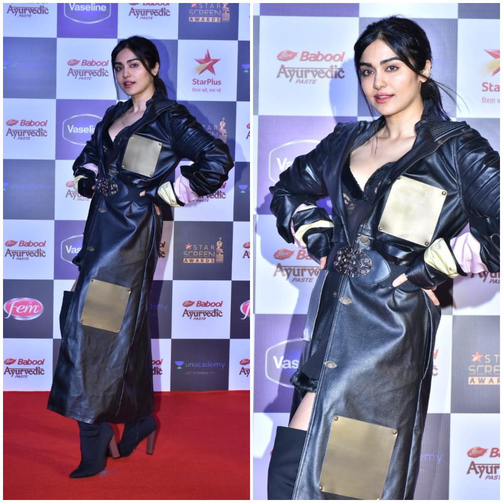 Adah Sharma at Star Screen Awards 2019 (Photo Credits: Yogen Shah)
