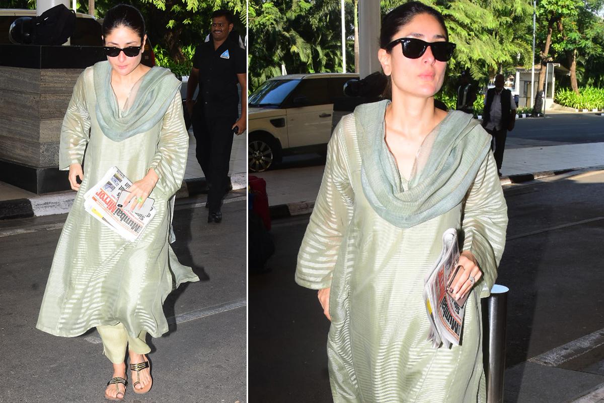 Airport Style - Kareena Kapoor Khan