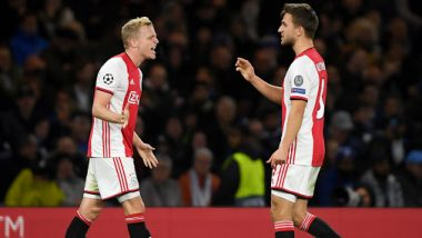 Ajax vs Valencia, UEFA Champions League Live Streaming Online: Where to Watch UCL 2019–20 Group Stage Match Live Telecast on TV & Free Football Score Updates in Indian Time?