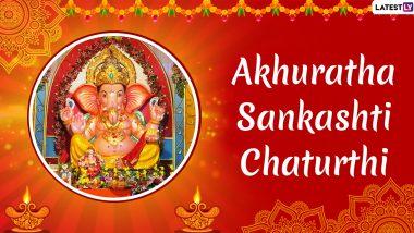 Akhuratha Sankashti Chaturthi 2019 Date and Tithi: Significance of This Auspicious Day Worshiping Lord Ganesha