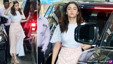 Alia Bhatt Shows Us Why the Timeless and Seasonless Plaid Trend Is a Must Own (View Pics)