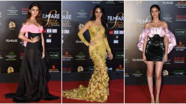 Filmfare Glamour and Style Awards 2019 Red Carpet: Alia Bhatt, Kiara Advani, Ananya Panday Slay With Gorgeous Looks (See Pics)