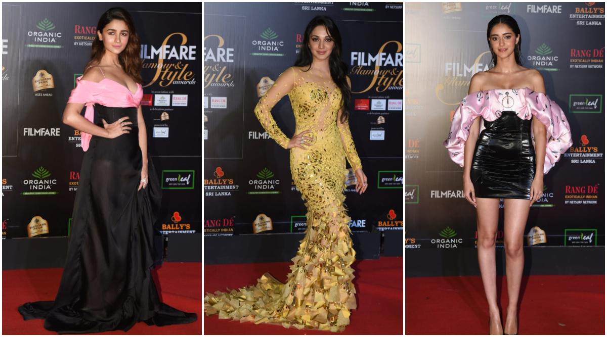 Filmfare Glamour and Style Awards 2019 Red Carpet: Alia Bhatt, Kiara Advani, Ananya Panday Slay With Gorgeous Looks (See Pics)