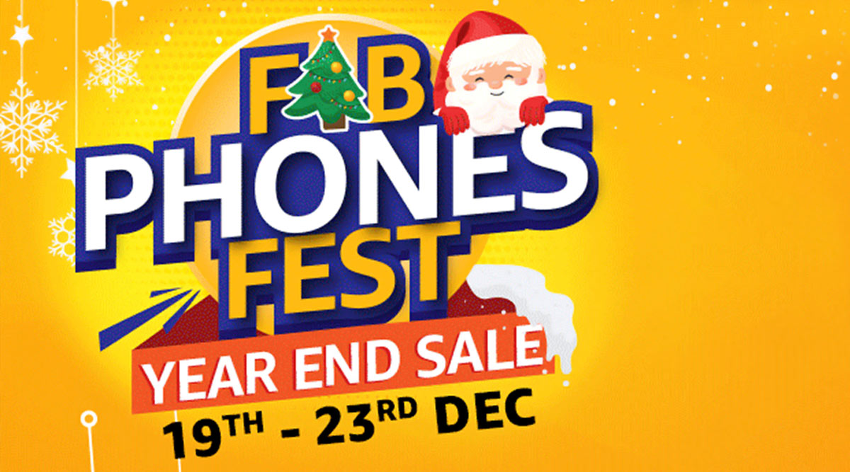 Amazon India Fab Phones Fest Year End Sale Announced; Exciting Offers & Discounts On OnePlus, Apple, Vivo, Oppo & More