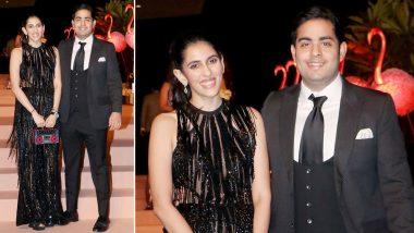 Glitzy and Glamorous! Shloka Mehta Ambani's Black Elie Saab Gown is a Steal (View Pics)
