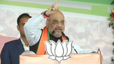 West Bengal Assembly Elections 2021: Amit Shah to Hold 4 Roadshows in Bengal Today