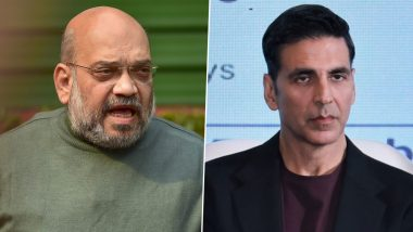 Akshay Kumar Gets Trolled For His 'Health Advice' to Home Minister Amit Shah (Read Tweets)