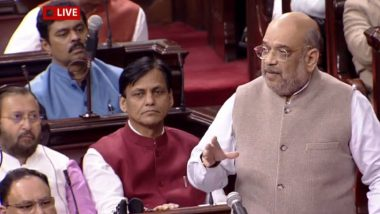 Citizenship Amendment Bill Debate in Rajya Sabha: Amit Shah Says 'Muslims of India Can Never be Stripped of Citizenship', Warns Agent Provocateurs