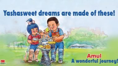 Amul Lauds Yashasvi Jaiswal After Panipur Seller's Son Signed by Rajasthan Royals For 2.4 Crore in IPL 2020 Player Auction