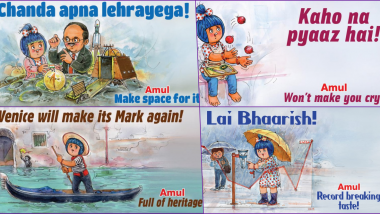 Amul Topical of 2019: From Chandrayaan 2 Launch to Onion Price Hike, Here are Some Best Doodle Ads to Relive the Last Year of the Decade