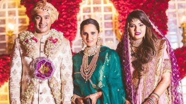 Anam Mirza-Asad Azharuddin Wedding Pics Out, Sania Mirza Shares Her Sister's Photo in Bridal Avatar on Instagram