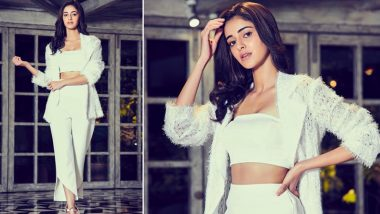 Christmas Comes Early for Ananya Panday, As She Stuns the Fashion World by Opting for a Milky White Pantsuit (View Post)