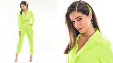 Neon Yellow Is In, Here's How to Wear It Like Ananya Panday!