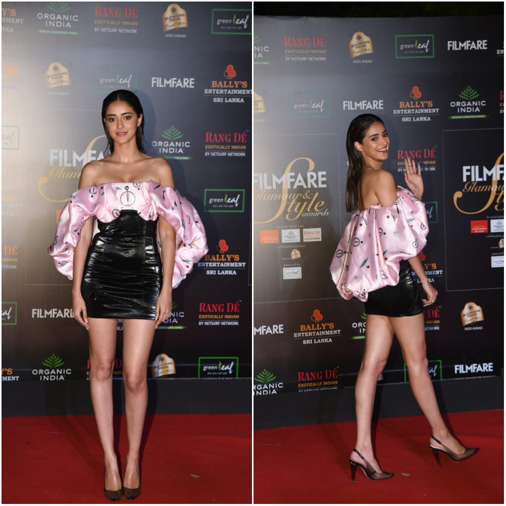Ananya Panday at Filmfare Glamour and Style Awards 2019