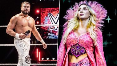 Andrade Becomes US Champion at WWE Live Event in Madison Square Garden; Girlfriend Charlotte Flair Reacts on Title Victory