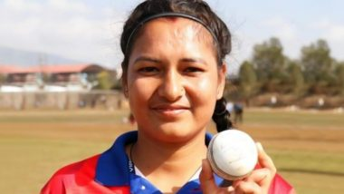 Anjali Chand Registers Best Figures for a Bowler in T20Is By Taking Six Wickets For No Runs During Nepal vs Maldives Twenty20 2019 Match