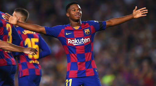 Ansu Fati Becomes Youngest Goal-Scorer in Champions League History During Inter Milan vs Barcelona Clash