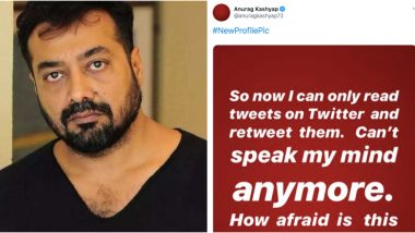 Anurag Kashyap Detained on Twitter Due to Anti-CAA Stand? Filmmaker Updates Profile Picture With IG Story Screenshot Explaining Why He Can't Tweet