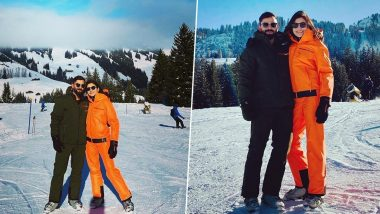Virat Kohli and Anushka Sharma's Snowy Vacation in Gstaad Will Give You Holiday Blues (View Pics)