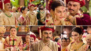 Panipat Song Sapna Hai Sach Hai: Arjun Kapoor and Kriti Sanon Look Too Good in This Traditional Maharashtrian Wedding Track (Watch Video)