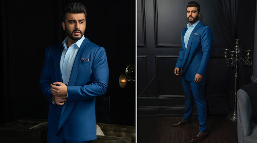 Arjun Kapoor in Bubber Couture for Panipat promotions