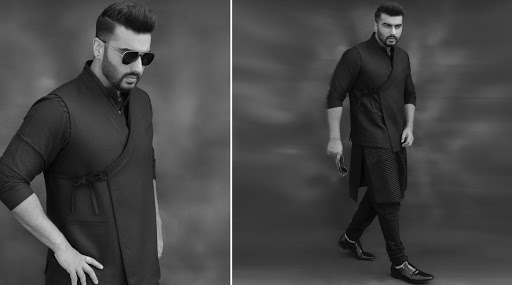 Arjun Kapoor in Junjumhomme for Panipat promotions