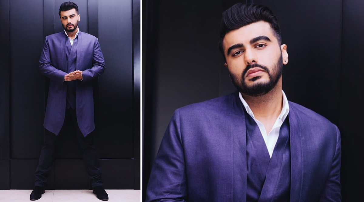 Arjun Kapoor in Kunal Rawal for Panipat promotions