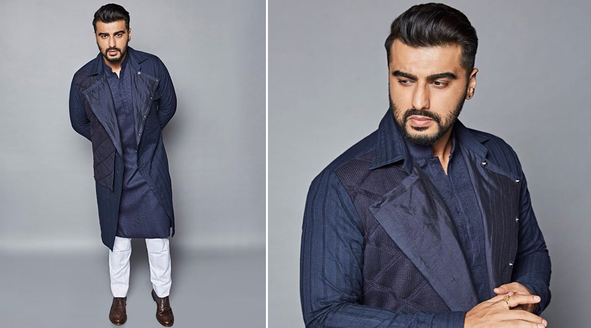 Arjun Kapoor in Kunal Tanna for Panipat promotions