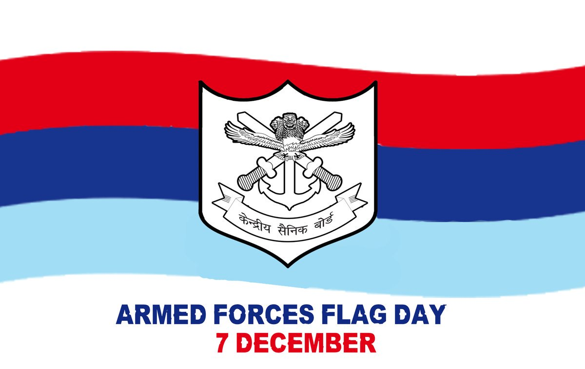 Armed Forces Flag Day 2019: History and Significance of The Day Dedicated to Welfare of Indian Army, Air Force & Navy Personnel