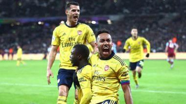 Premier League 2019-20 Results: Arsenal Relieved as Worst Winless Run Since 1977 Ends With 3-1 Victory Over West Ham
