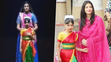 Aaradhya Bachchan Recites A Poem On Girl Child At Her School Function While Abhishek Bachchan And Shah Rukh Khan Turn Paparazzi (Watch Video)