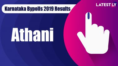 Athani Bypoll 2019 Result For Karnataka Assembly Live: Mahesh Iranagoud Kumathalli of BJP Leading