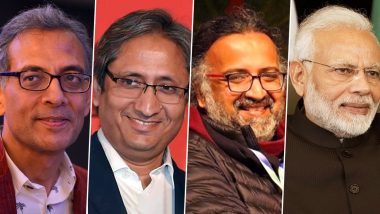 Year Ender 2019: From Abhijit Banerjee's Nobel Prize in Economics to Ravish Kumar's Ramon Magsaysay in Journalism, Personalities Who Made India Proud