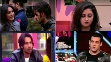 Bigg Boss 13 Weekend Ka Vaar Preview: Kamya Punjabi Advices Rashami Desai To Not Get Fooled In Love Once Again and Salman Khan Calls Arhaan 'Bewakoof' (Watch Video)