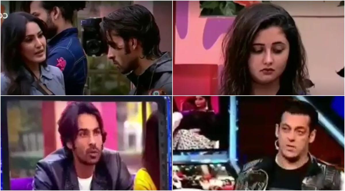 Bigg Boss 13 Weekend Ka Vaar Preview: Kamya Punjabi Advices Rashami Desai To Not Get Fooled In Love Once Again and Salman Khan Calls Arhaan 'Bewakoof' (Watch Video)