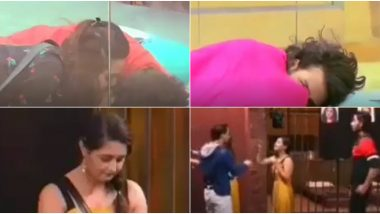 Bigg Boss 13 Day 65 Preview: Madhurima Tuli Kisses on Vishal Aditya Singh's Forehead and Rashami Desai's Silly Mistake in the Captaincy Task Upsets Asim Riaz (Watch Video)