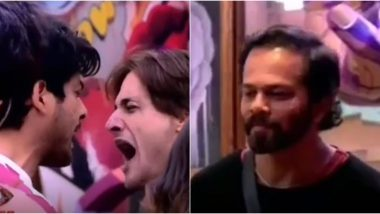Bigg Boss 13 Weekend Ka Vaar Preview: Sidharth Shukla and Asim Riaz Get Into an Ugly Brawl, Rohit Shetty Enters the House to Mend the Bridge Between the Two (Watch Video)