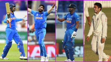 BCCI Posts 4 in 1 Wish As Ravindra Jadeja, Jasprit Bumrah, Shreyas Iyer and Karun Nair Celebrate Their Birthdays