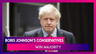 UK Election Results 2019: Boris Johnson's Conservatives Win Majority