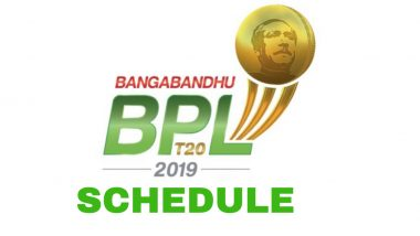 Bangladesh Premier League 2019-20 Schedule in IST, Free PDF Download: BPL T20 Season 7 Full Timetable With Fixtures, Match Timings and Venue Details