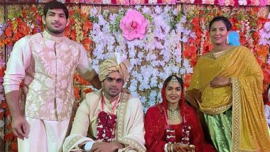 Babita Phogat and Vivek Suhag Wedding Pics: Indian Wrestling Couple Takes an 'Extra Phera' For a Noble Cause, View Beautiful Marriage Ceremony Photos!