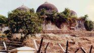 Babri Masjid Demolition: Tight Security in Ayodhya, Close Vigil Kept on Social Media