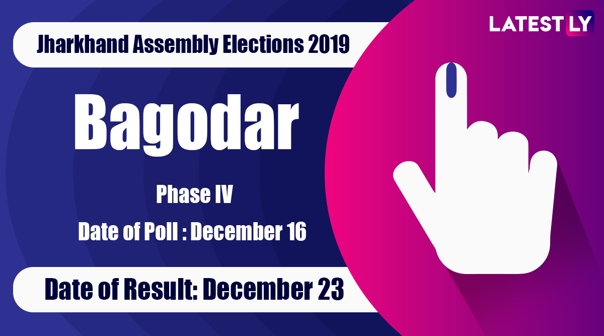 Bagodar Vidhan Sabha Constituency Result in Jharkhand Assembly Elections 2019: Vinod Kumar Singh of CPI(ML) Wins MLA Seat